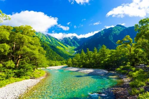 Les alpes japonaises : la vallée de Kamikochi