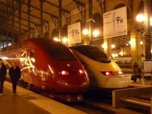 パリの北駅からドイツ・ケルンへ 3時間の旅