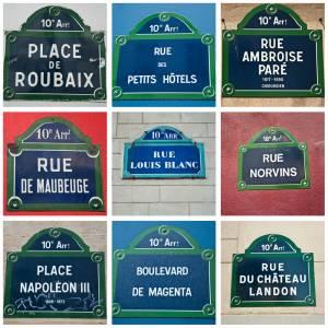 フランスの偉人シリーズ 偉い人にちなんだ通りの名前
