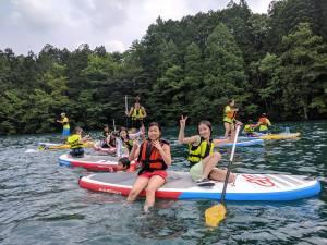 2019.7.28. - 8.2. イングリッシュキャンプin白馬 4日目 *サップ&カヌー