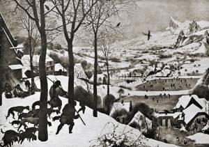 「白黒のブリューゲルの世界」展で幻想の世界を旅する