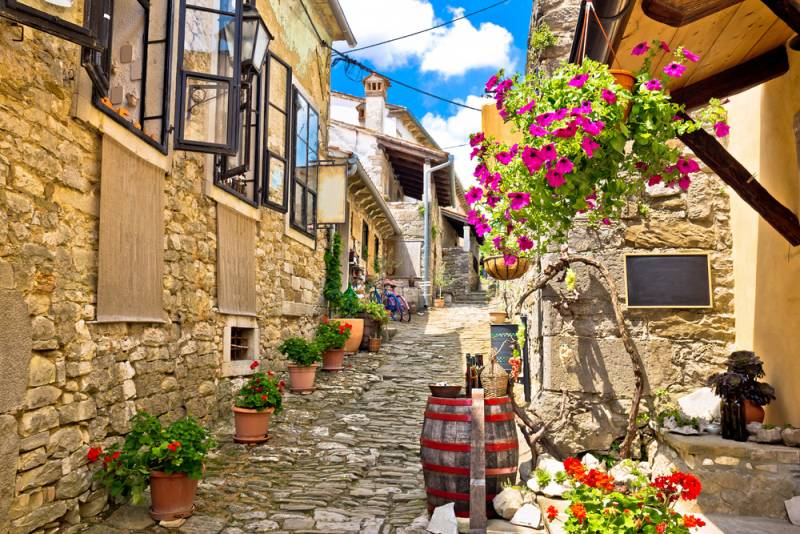 2019年ウルトラトレイルワールドツアー クロアチア・イストリア地方 「世界で一番小さな街 フム」