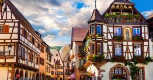 【カイゼルスベルグKaysersberg|フランス人のもっとも好きな村2017】