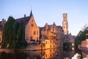 ベルギー 世界遺産の旧市街・ブルージュには、宿泊されるのがおすすめ!