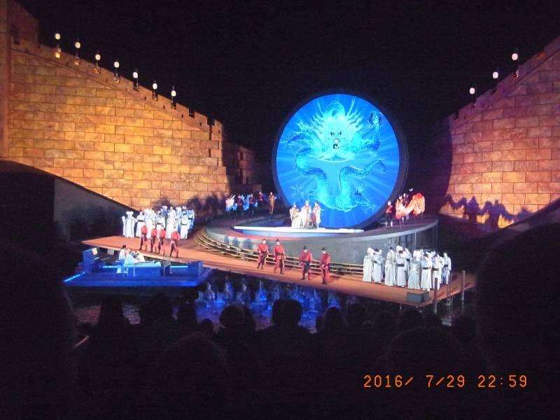 ブレゲンツ湖上オペラ♪ 『トゥーランドット』公演