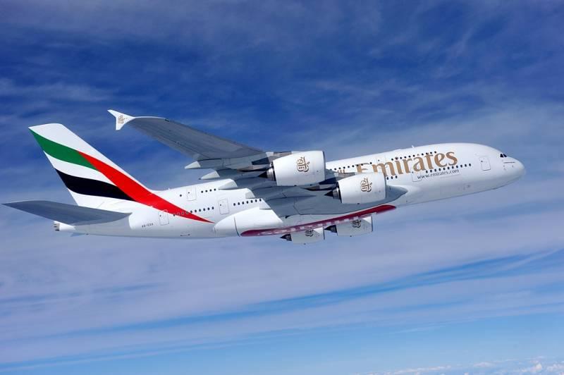 エミレーツ航空 成田発/ドバイ A380運航