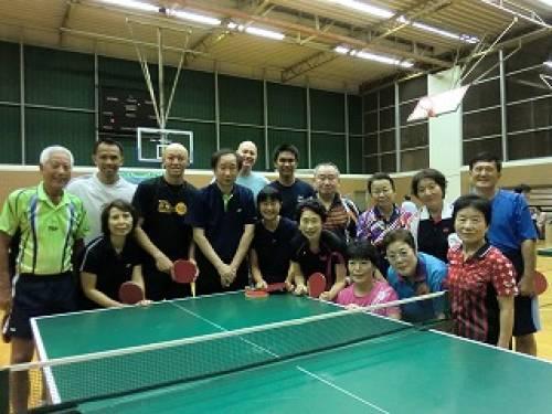 世界チャンピオン 小野誠治選手による講習会 ハワイラージボールオープン2011