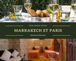 ヨーロッパ2か国周遊|パリ・パラスホテルとマラケシュのリヤドに泊まるラグジュアリーホテル旅