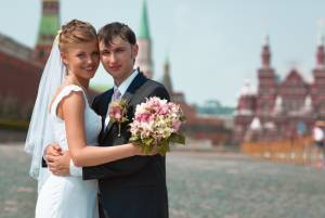 ロシアの結婚式