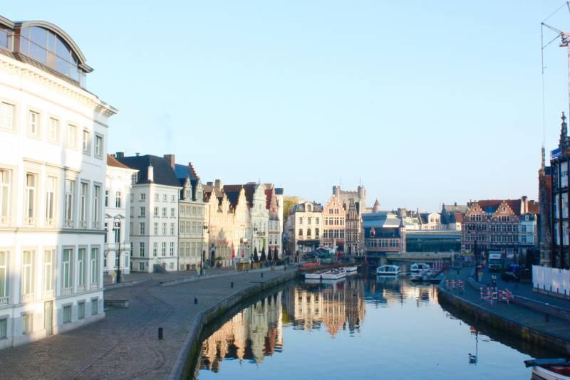 ~景色がすばらしく、食事もおいしくて、ベルギーがとても好きになりました。~