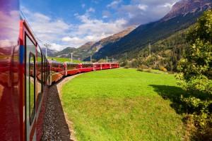 スイスを満喫した鉄道の旅
