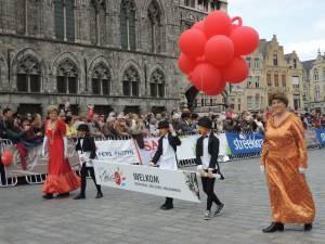 ベルギー☆イーペルの猫祭り~11月11日は第一次世界大戦休戦記念日~赤いポピーの意味
