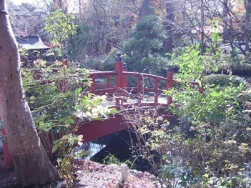 Architecture japonaise: le pont japonais