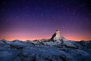 マッターホルンと星空の絶景
