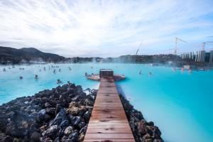 アイスランドの温泉
