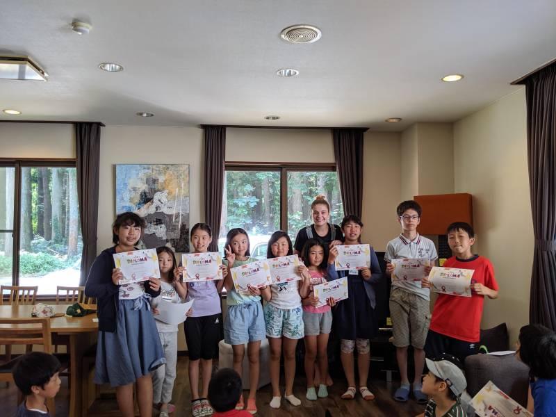 2019.7.28. - 8.2. イングリッシュキャンプin白馬 6日目 *最終日 発表会