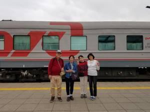 ユーラシア大陸鉄道横断のシベリア鉄道編
