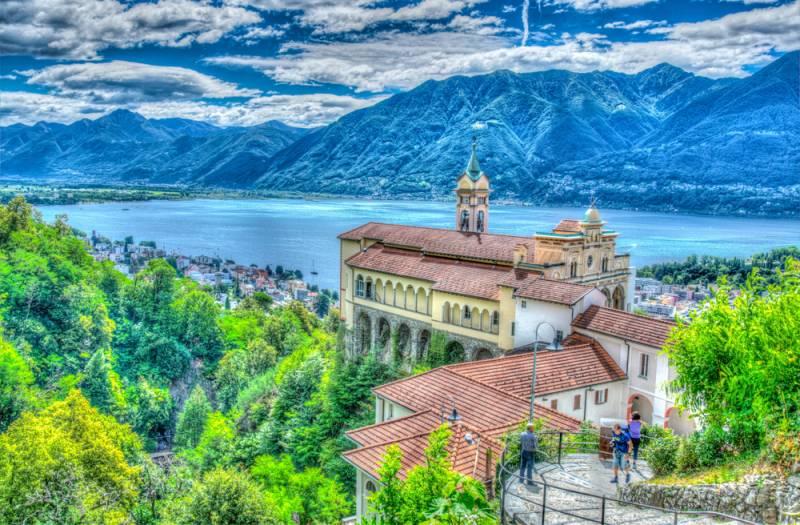 スイスおすすめの展望台その5 ティチーノ州