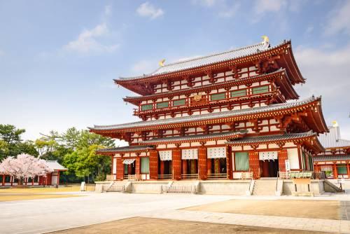 Le temple Yakushi-ji