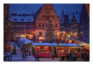 ローテンブルクのクリスマスマーケット☆