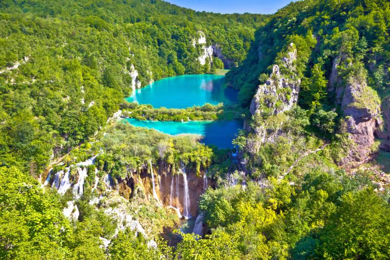 クロアチア観光/旅行【最新情報】クロアチアテレビ番組情報 「プリトゥヴィツェの滝と世界遺産の古都」
