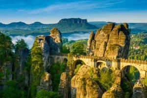 奇岩の絶景! ザクセンスイス