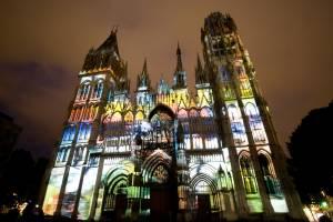 ルーアン大聖堂 光のスペクタクルに魅せられて