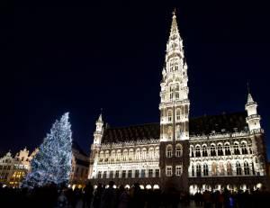 ☆ベルギーのクリスマス☆ ベルギーでは冬が始まったようです。