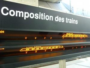 TGVの乗り方 シャルルドゴール駅