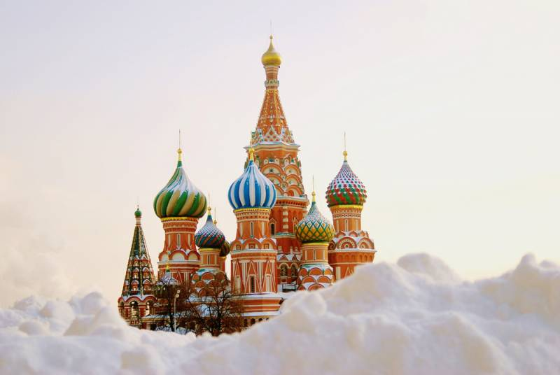 ⛄冬のロシア旅行⛄