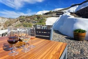 サントリーニ島のお勧めワイン「アシルティコ」の不思議なブドウ畑