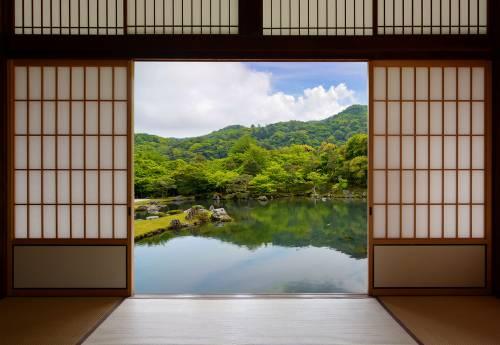 Les jardins japonais à travers le temps