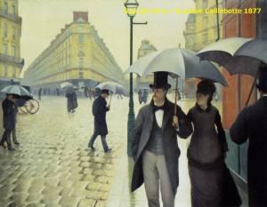 油絵から味わえるフランス ギュスターヴ・カイユボット / パリの街