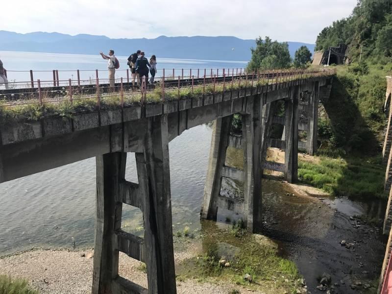 バイカル湖岸鉄道を体験