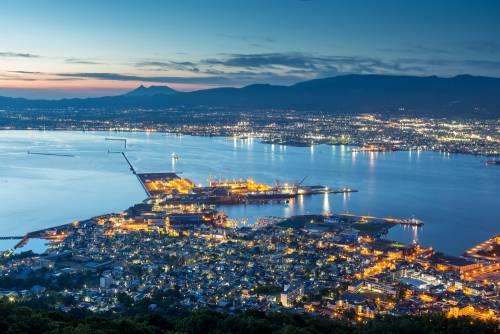 Hakodate, l'extrême sud de la grande île du nord du Japon