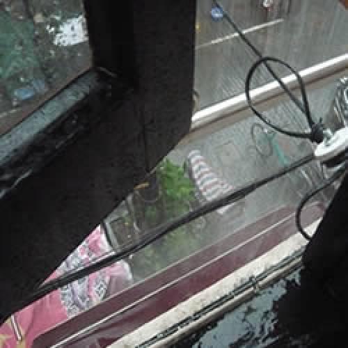 とうとう上海にも梅雨到来?