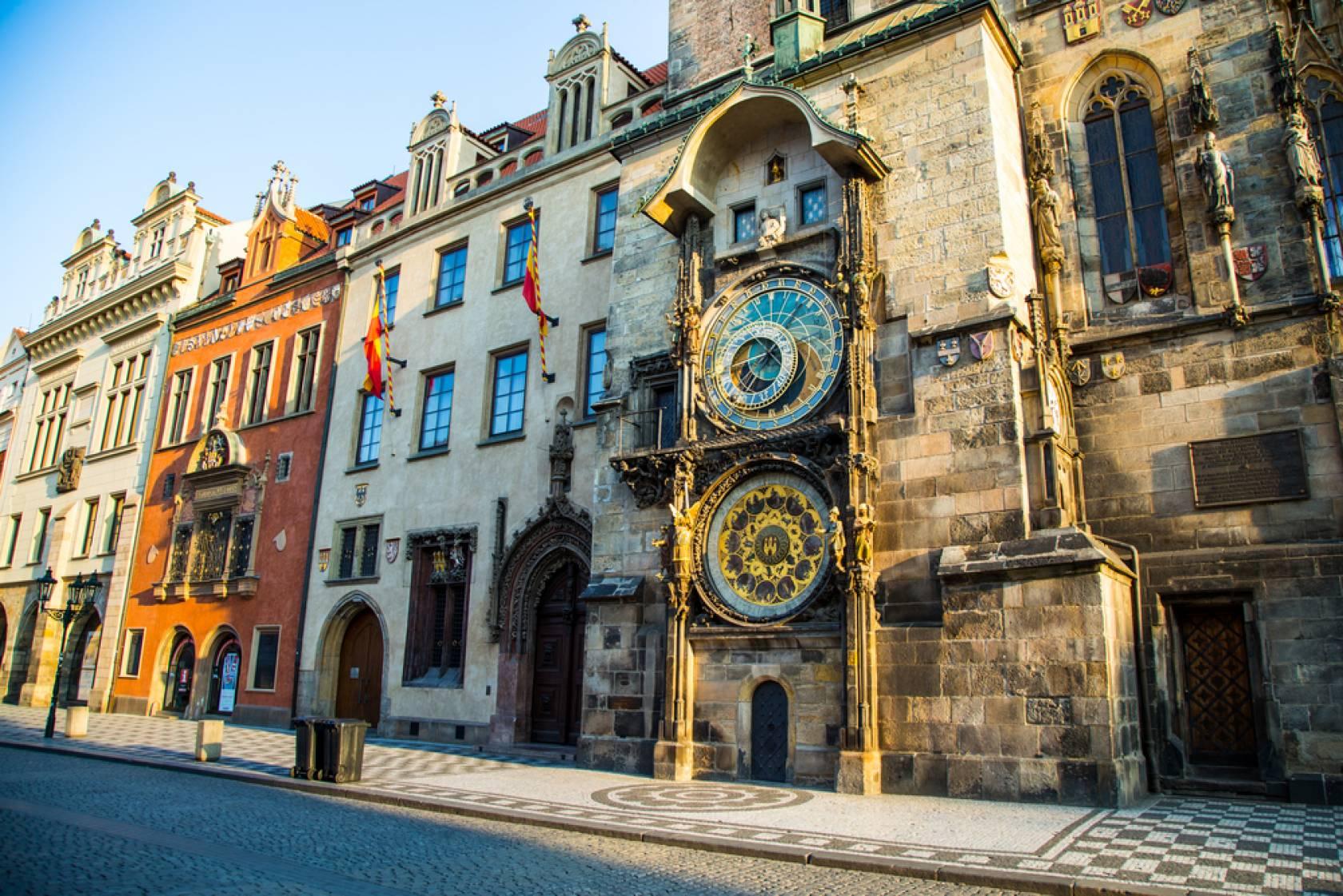 プラハの天文時計>