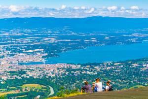 スイスのおすすめ展望台その3  レマン湖周辺とモンブランを望むシャモニー(フレンチアルプス)