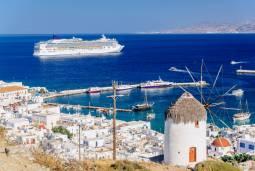ギリシャハネムーン(新婚旅行) ♡エーゲ海クルーズとアテネ♡ ~サントリーニ島途中下船でたっぷり観光~ 現地8日間