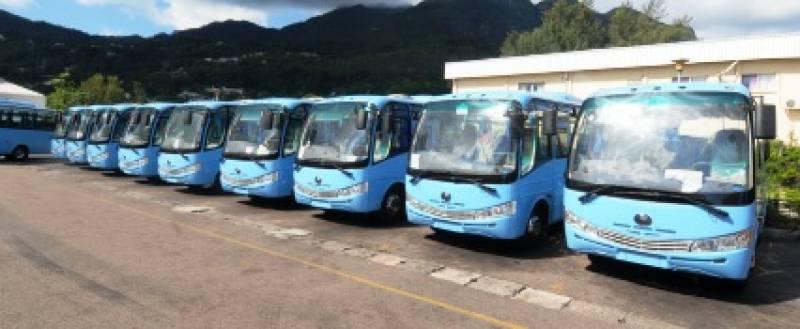 セイシェルの路線バス
