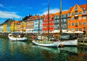ドイツからデンマークへ「渡り鳥ルート」