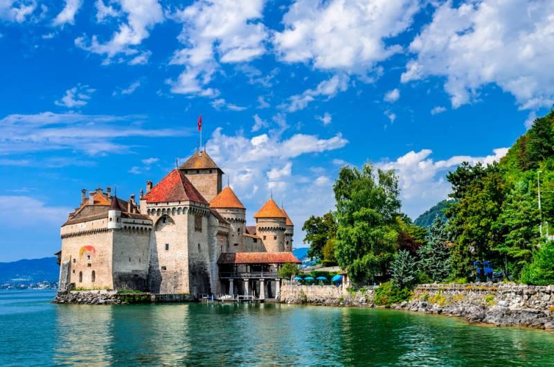 ハネムーン♪レマン湖畔でゆっくり滞在 スイス満喫6日間