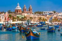 ギリシャ2か国ハネムーン(新婚旅行)♡地中海マルタ島とギリシャ・サントリーニ島&ミコノス島 現地9日間