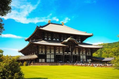 Nara - Le temple Tôdai-ji