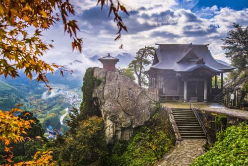 Yamadera : le temple sur la montagne