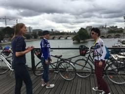 毎週 木,(金),日曜 9:30発  パリのグルメを巡るサイクリング 4時間コース、現地ガイド付