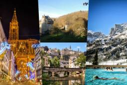 ヨーロッパクリスマス周遊 2つの温泉地+美しい村々と古城&クリスマス市巡り 10日間(ベルギー・ルクセンブルク・フランス・スイス)