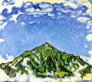 画家達を魅了した三角形の山ニーセン