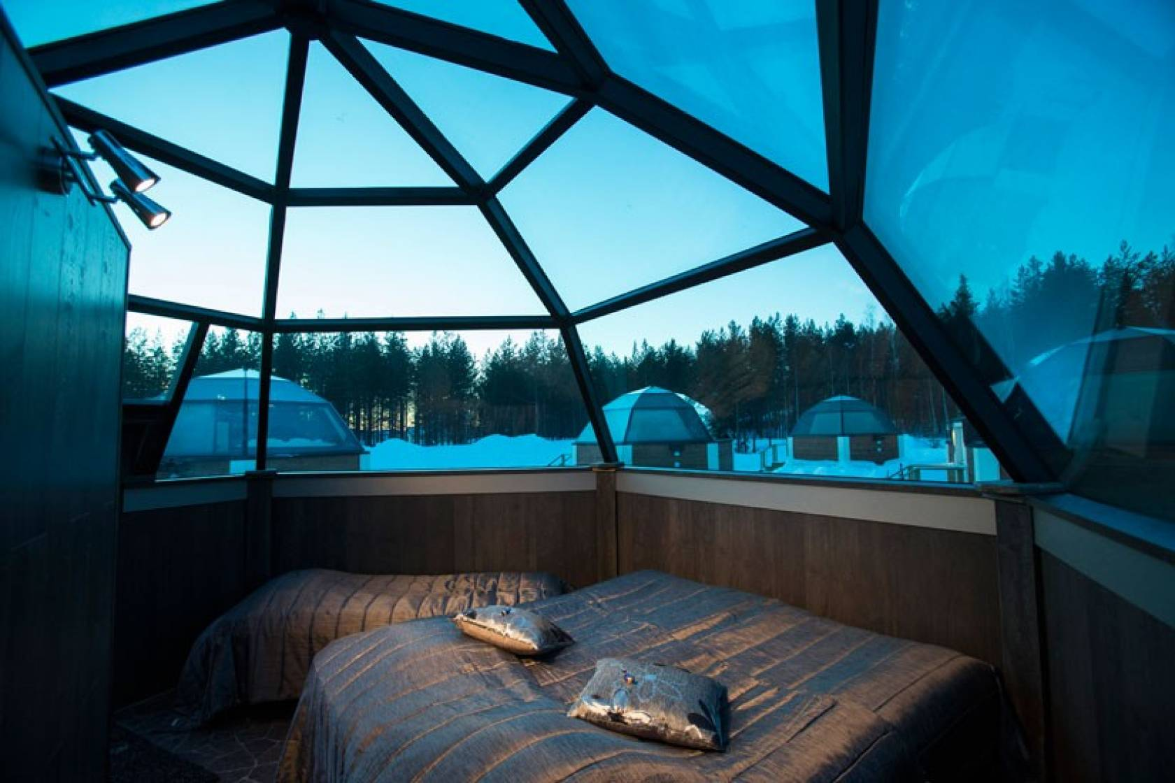 Finland Winter Holidays With Glass Roofs
