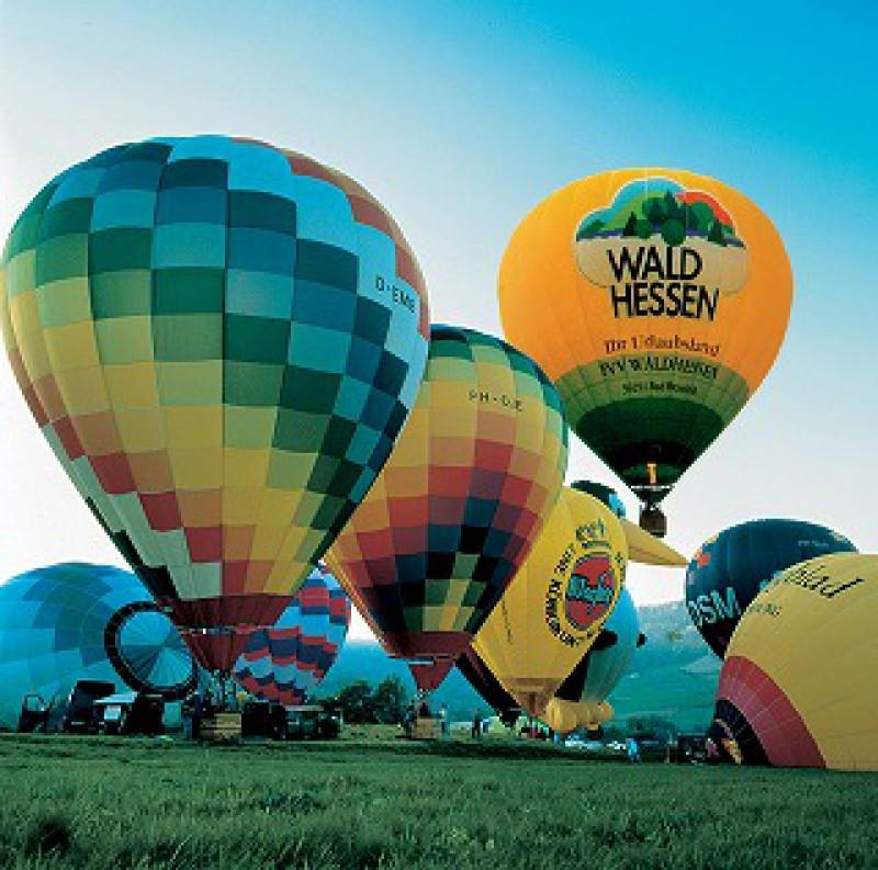 ローテンブルクで気球体験!